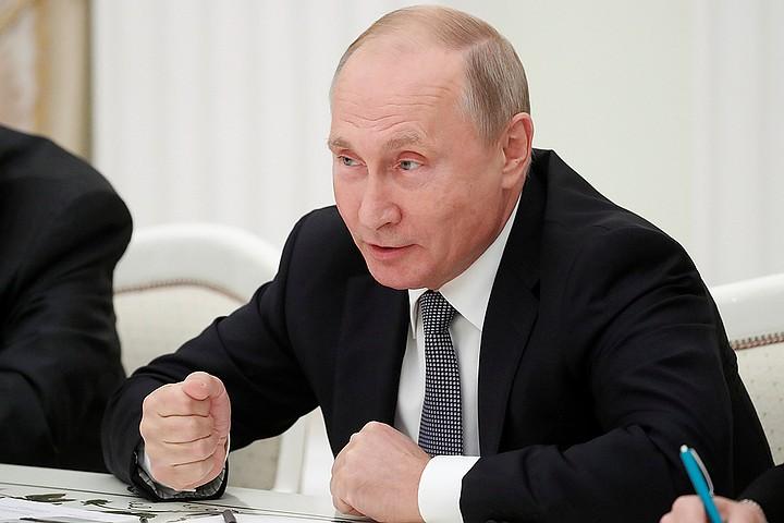 Путин - Болтону: Ваш американский орлан все оливки склевал, остались одни стрелы?
