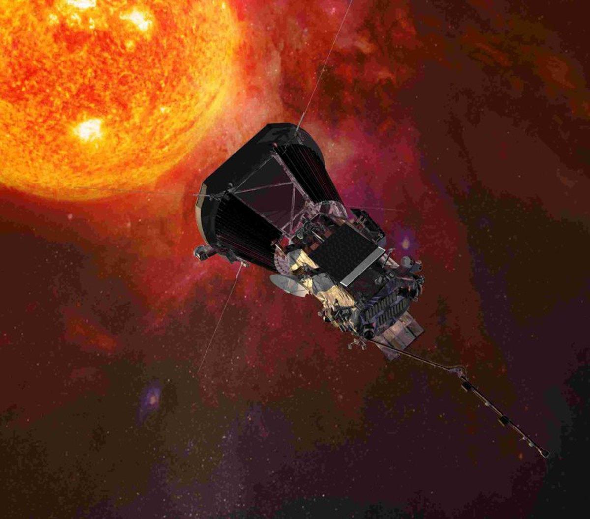 Солнечный зонд «Паркер» через 3 дня сблизится с Солнцем