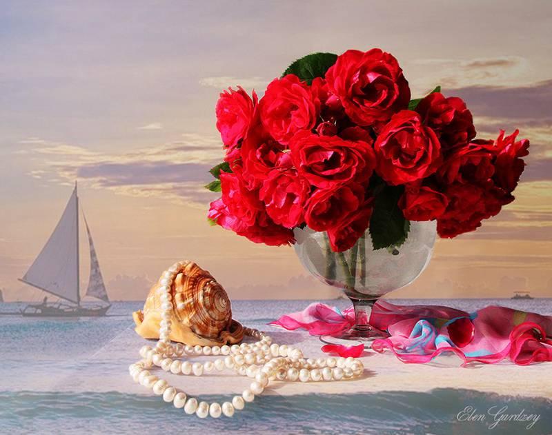 Цветочные фотонатюрморты Elen Gardzey