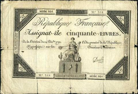 Ассигнаты Французской Буржуазной революции