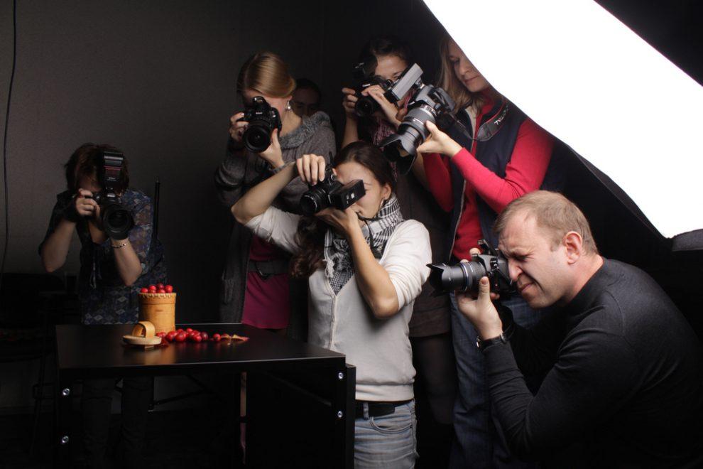 Курсы профессиональной фотографии в Санкт-Петербурге