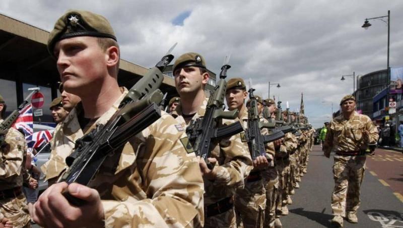 """Лондон: Британская армия останется в Германии из-за """"российской угрозы"""""""