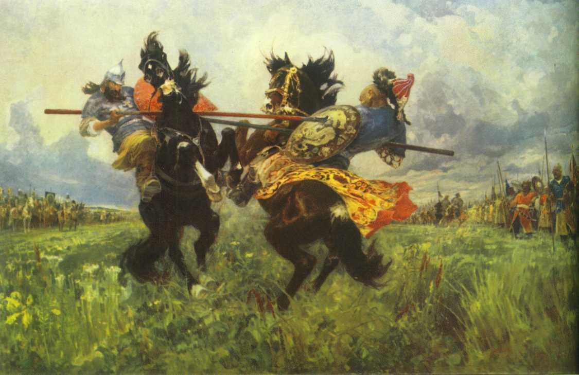 Загадки поля Куликова
