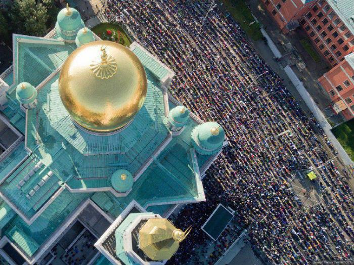 Курбан-байрам 2017 в России