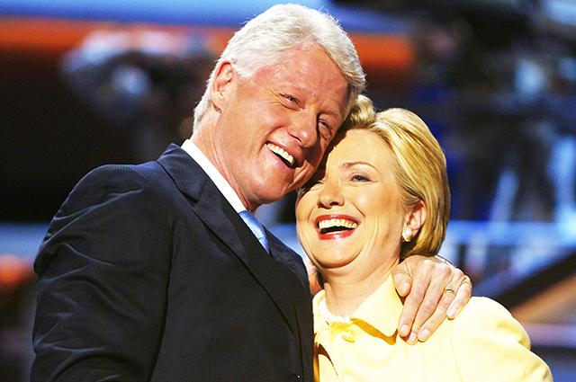 Хиллари Клинтон оправдала мужа