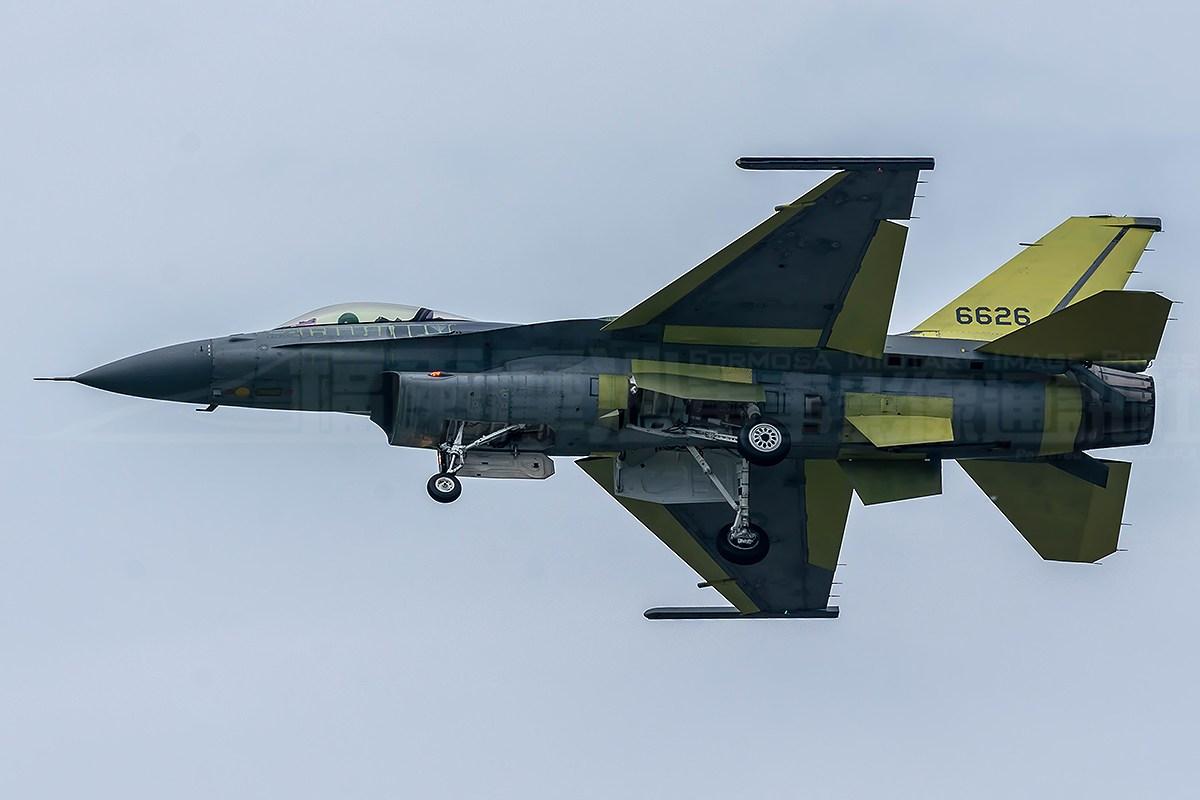 Первый модернизированный тайваньский истребитель F-16V