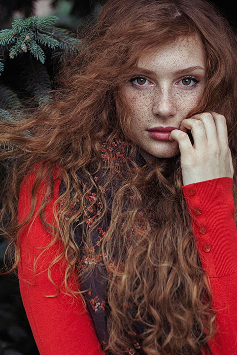 Red in red. Автор фото: Maja Topcagic.