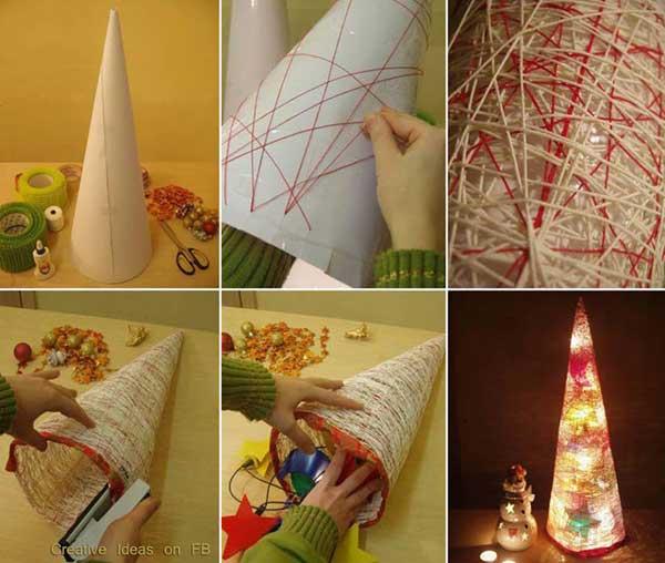 40 простых и бюджетных новогодних украшений своими руками