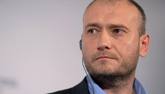 Ярош заявил, что видит только силовой способ решения конфликта в Донбассе