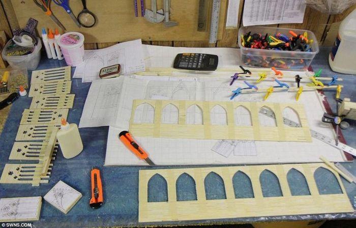 Арбаг: как сделать спичечный домик без головок