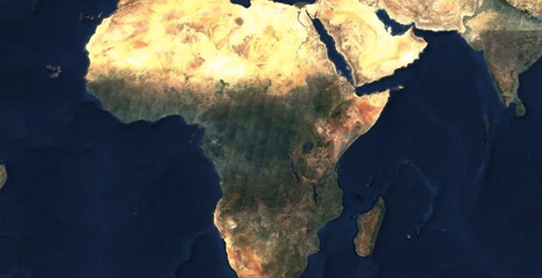 Создано первое безоблачное изображение Земли