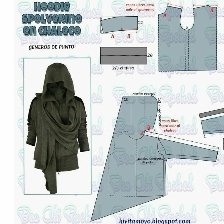 Интересные идеи блузок и не только: с выкройками или вариантами моделирования 1