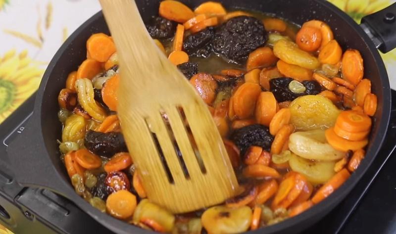 как приготовить морковный цимес