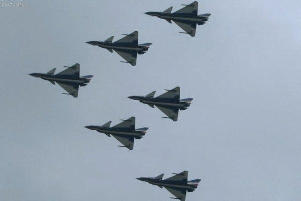 Китайские истребители и бомбардировщики были готовы к вылету в Сирию