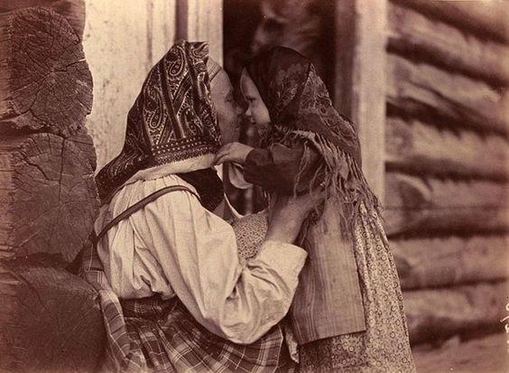 Как наряжались женщины на Руси