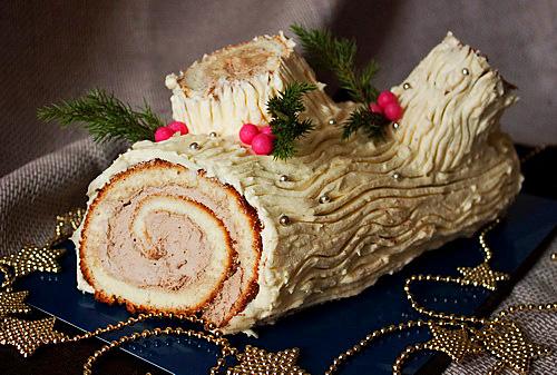 Торт рождественский рецепт