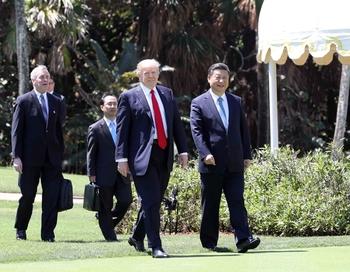 Трамп и Си Цзиньпин договорились об усилении давления на КНДР