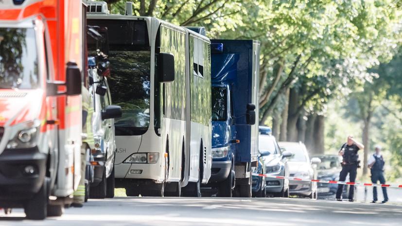 Нападении в автобусе Любека: немецкая полиция не нашла террористического следа