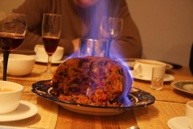 Совсем интересный рецепт рождественского пудинга