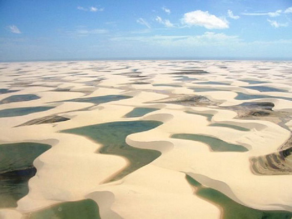 Необычные пустыни