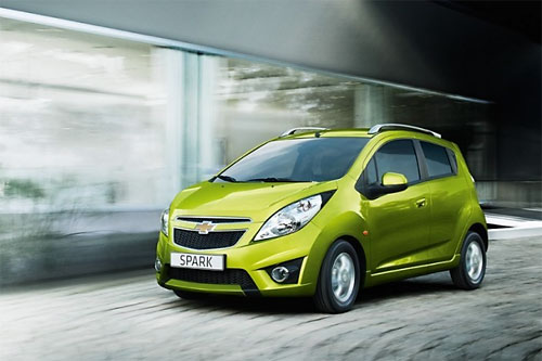 Opel готовит бюджетный ситикар на базе Chevrolet Spark