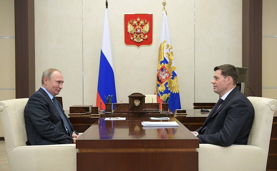 Встреча с главой компании «Северсталь» Алексеем Мордашовым