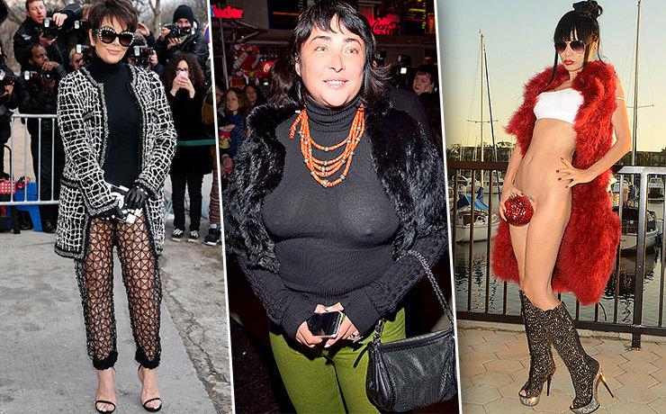 Знаменитости старше 50 лет, которые не стесняются носить откровенные наряды