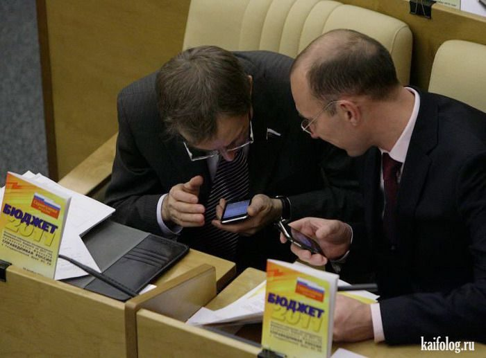 Как работает Государственная Дума в России. Даже нам стыдно…