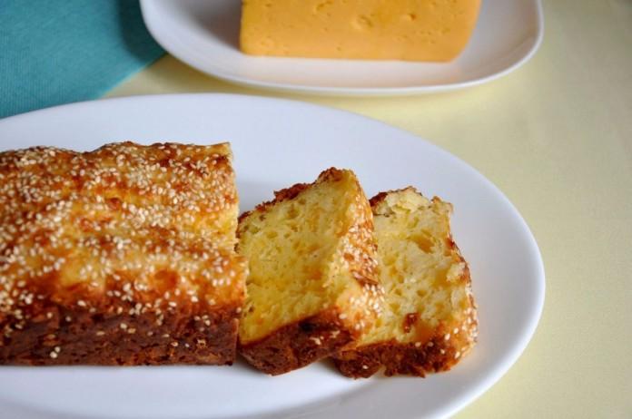 Кекс «Сырный» — замечательная выпечка! Вкусно и в горячем, и в холодном виде!
