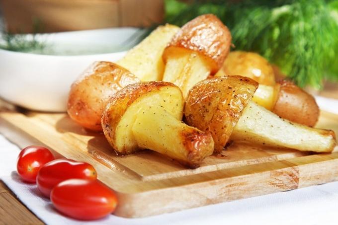 Картофельные грибы