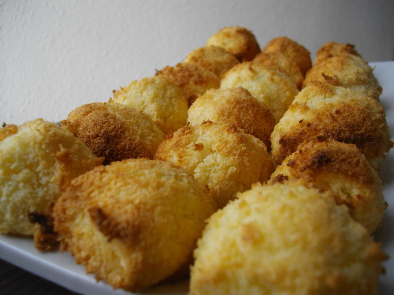 Рецепт печенья из кокосовой стружки