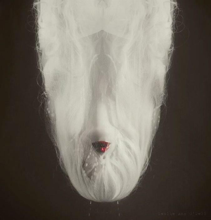 Вниз головой. Автор работ: фото-иллюстратор Лесли Энн О'Делл (Leslie Ann O'Dell).