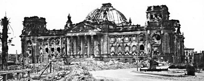 «Развалинами Рейхстага удовлетворен»