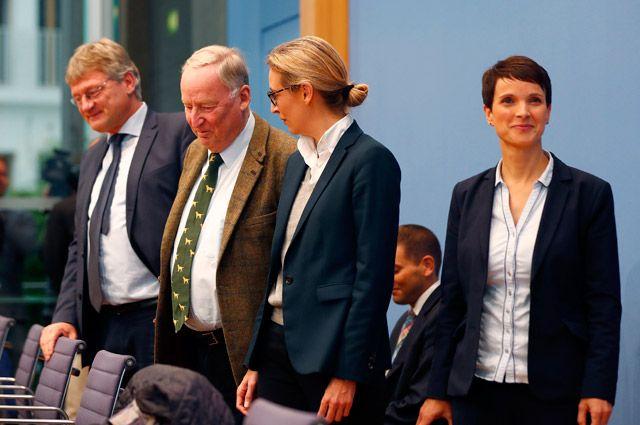 Что за партия «Альтернатива для Германии», попавшая в Бундестаг?