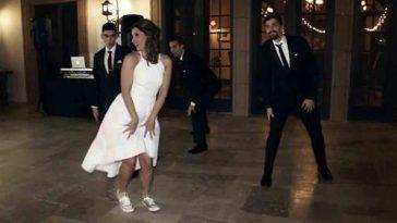 Невеста и трое ее взрослых сыновей поразили всех на свадьбе! Масса положительных эмоций!