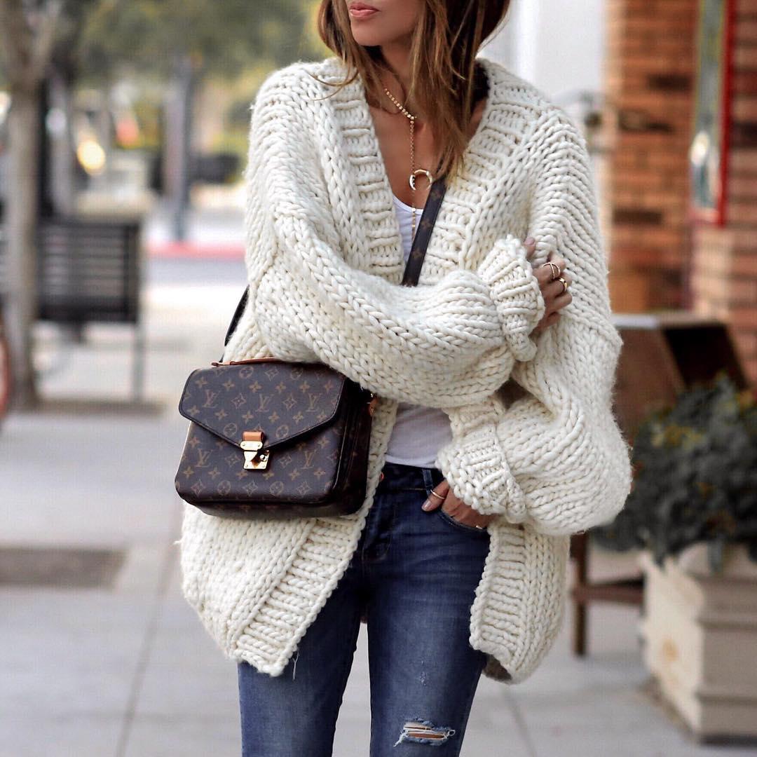Модное вязание спицами : фото, тенденции 46