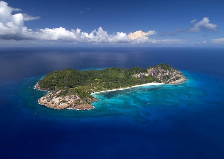 Частный остров на Сейшелах