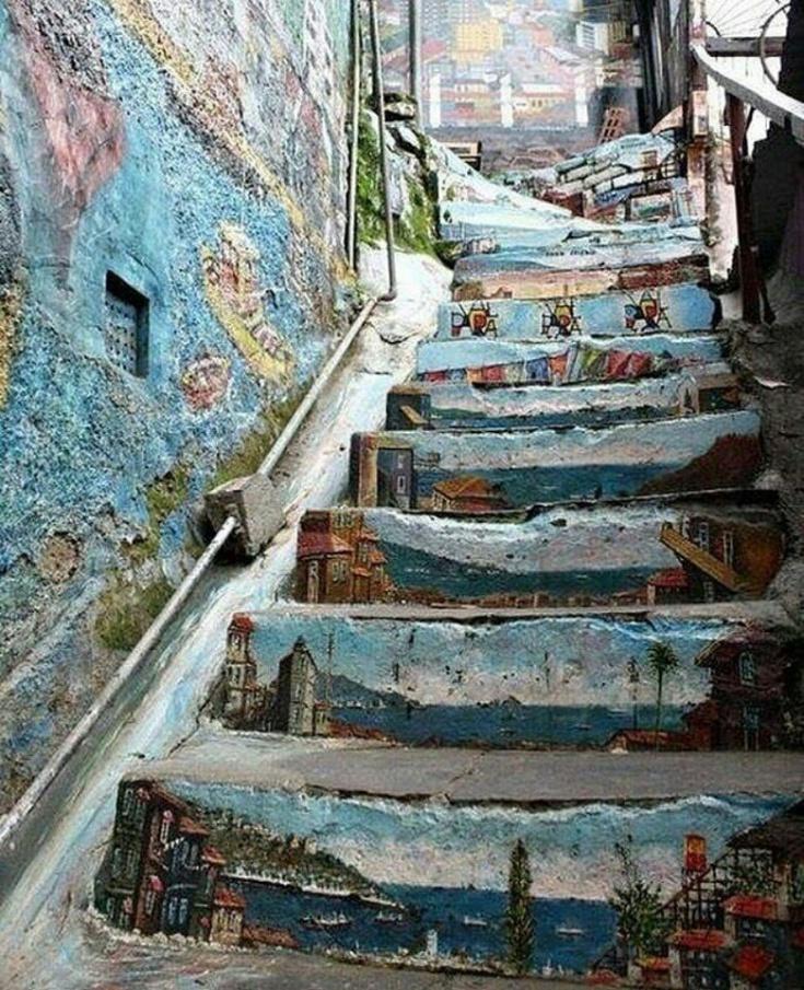Лестница в Мексике