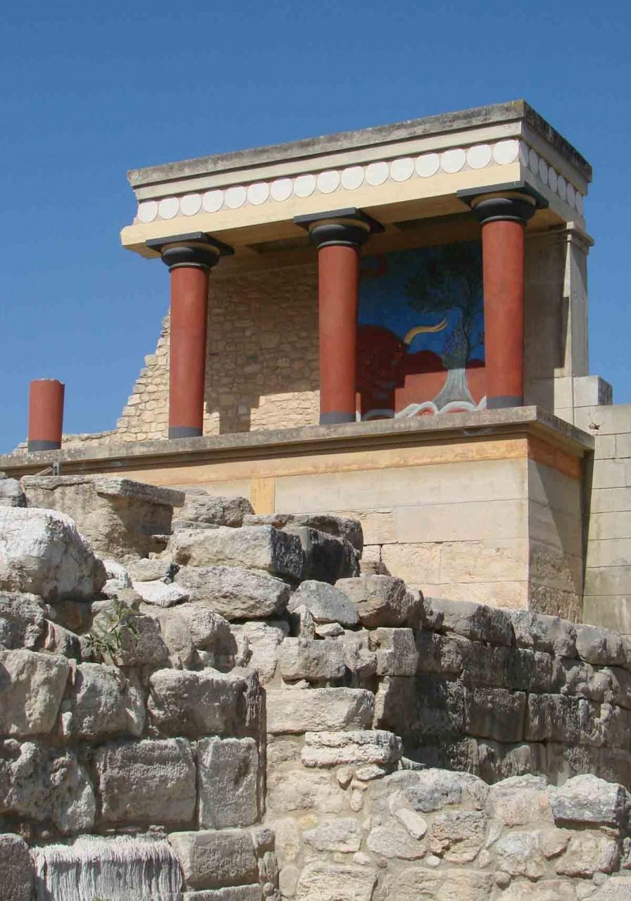 Лабиринт Минотавра. Крит. Греция.