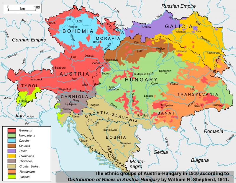Как национальный вопрос разрушил Австро-Венгрию