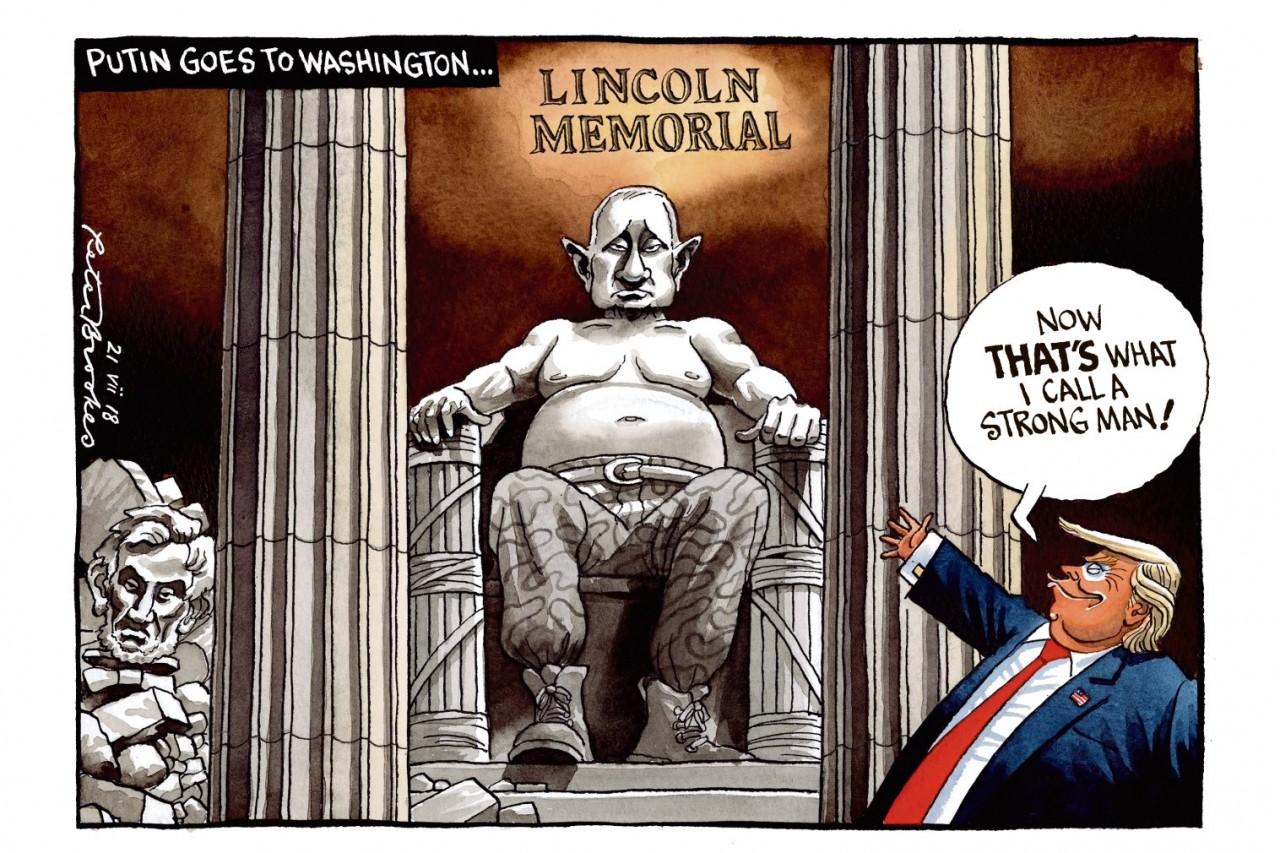 Держись подальше, черт возьми, от американской демократии!