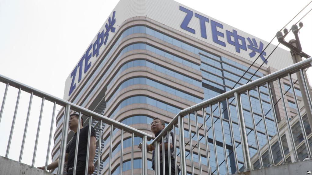 США наложили рекордный штраф на китайскую ZTE