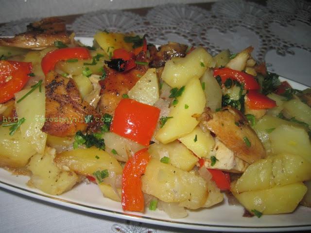 Рецепты из мяса с овощами на второе