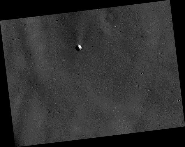 Новый странный объект на Марсе
