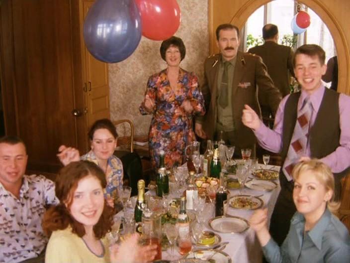 На Верхней Масловке(2004 г.)- отец Кати Федор Добронравов, актеры, день рождения