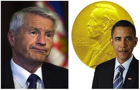 Дотянулся Путин... Нобелевский комитет «ВЕЖЛИВО» просит Обаму вернуть Премию Мира