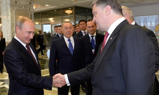 Порошенко угрожает Путину