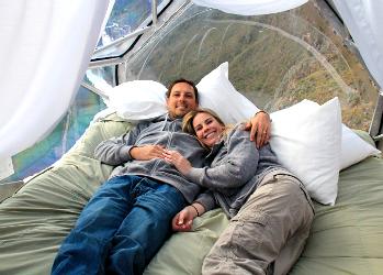 Отель «У безумного альпиниста», или гостиница для смелых