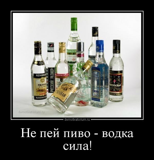 О водке или хорошо, или не пей!!!