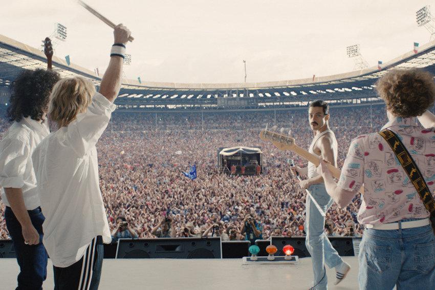 Вышел красочный трейлер фильма о группе Queen
